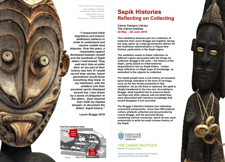 Sepik Histories flyer horizontal